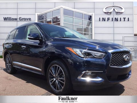 Pre-Owned 2017 INFINITI QX60 Base AWD Sport Utility
