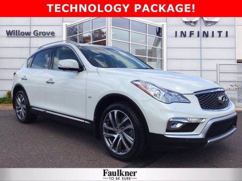 Pre-Owned 2017 INFINITI QX50 Base AWD Sport Utility