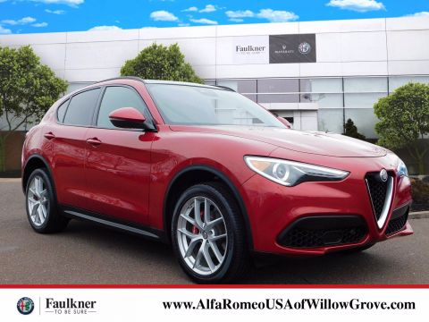 Used Alfa Romeo Stelvio Willow Grove Pa